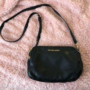 Micheal Kors black leather purse